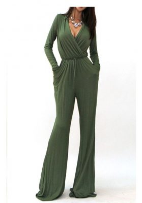Olive Joy Jumpsuit